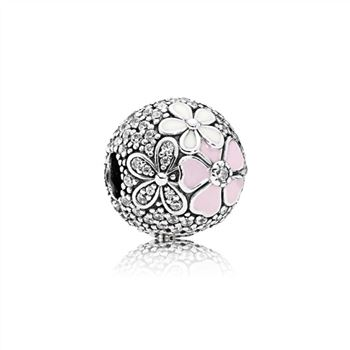 Pandora Poetic Blooms, Mixed Enamels & Clear CZ 792084CZ