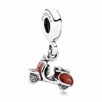 Pandora Love Red Scooter Charm 791140EN42