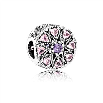 Pandora Shimmering Medallion Charm, Multi-Colored CZ 791974NPRMX