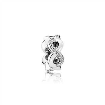 Pandora Infinite Love, Clear CZ 792101CZ